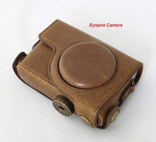 Eynpire Camera Leather Case For Canon S100