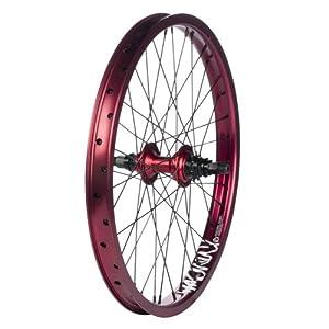 Buy MacNeil DUB Primary Rear BMX Wheel - 20 x 1.75, 36H, Doublewall, Red Red Steel by MacNeil
