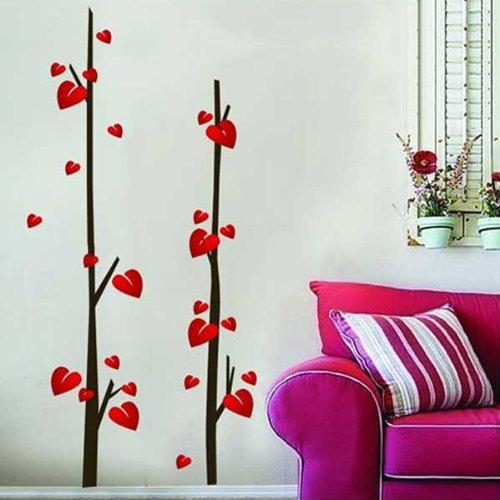 Como hacer corazones para decorar la pared 1 car interior design - Dibujos decoracion paredes ...