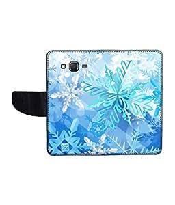 KolorEdge Printed Flip Cover For Samsung Galaxy J7 Multicolor - (1479-55KeMLogo11344SamJ7)