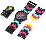 "Lego Kids 9009990 ""Wyldstyle"" Mini-Figure Link Watch"