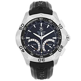 TAG Heuer Men s CAF7010 FT8011 Aquaracer Calibre S Regatta Chronograph Watch