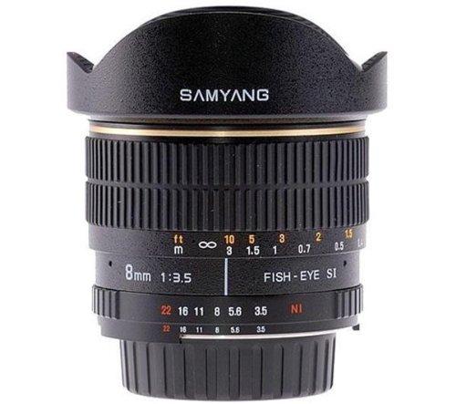 SAMYANG 8 mm f / 3.5 IF MC Fisheye Lens for Canon