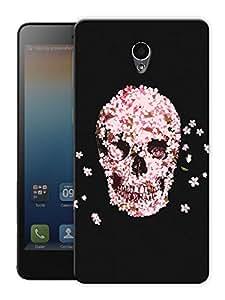"Skulls And Petals Printed Designer Mobile Back Cover For ""Lenovo S860"" By Humor Gang (3D, Matte Finish, Premium Quality, Protective Snap On Slim Hard Phone Case, Multi Color)"