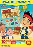 Kellogg's Disney Jake and the Never Land Pirates Fruit Snacks, 8-ounce, 10 Pouches (Pack of 5)