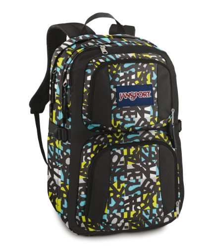 Jansport Js Classic The Merit Laptoprucksack 48 cm (alien green jumble jam)
