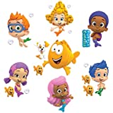 "Bubble Guppies Set of 8 Removable Wall Stickers 10"" Inch Bubble Guppies"