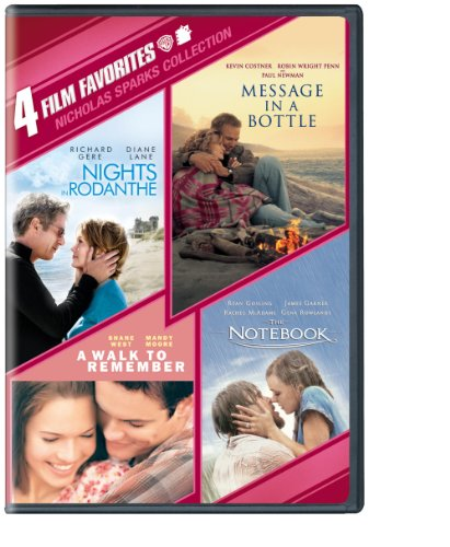 51gTGgUTcBL. SL500  4 Film Favorites: Nicholas Sparks (Message in a Bottle, Nights in Rodanthe, The Notebook, A Walk to Remember)