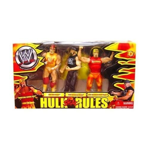 Hulk Hogan 3 Pack Hulk Still Rules Wrestling Action Figure Series Classic By Wwe Picture