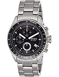 fossil watches buy fossil watches online at best prices in fossil decker chronograph analog black dial men s watch ch2600ie