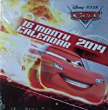 Disney Pixar Cars 2014 16 Month Square Wall Calendar 10x10