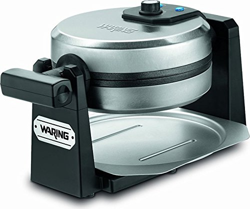 Waring Pro WMK200 Belgian Waffle Maker, Stainless Steel/Black [DISCONTINUED] (Waring Waffle Maker Wmk200 compare prices)