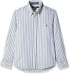Gant Boys' Shirt (GBSEF0022_Lake Blue_L)