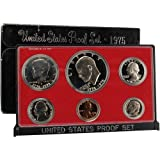 1975 S US Mint Proof Set Original Government Packaging