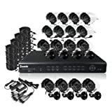 ZMODO DVR-DK61103-1TB 16 CH Security Surveillance DVR Outdoor Security Camera System 1TB thumbnail