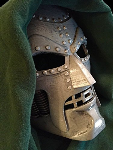 [New Dr Doom Mask of Doom Marvel Comics Fantastic Four Movie Costume Cosplay 3D Printed Fully Hand Painted Made in USA Ready to] (Cracker Jack Sailor Costume)