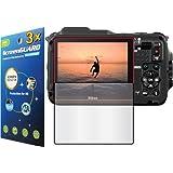 3x Nikon Coolpix AW120 AW120S Digital Camera Premium Clear LCD Screen Protector Guard Shield Kit (NO CUTTING, GUARMOR Brand)