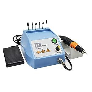 Brushless Grinding Machine Micro Motor Dental Lab Equipment, 50000RPM Brushless Manicure Grinding Machine Lab Carving Polishing