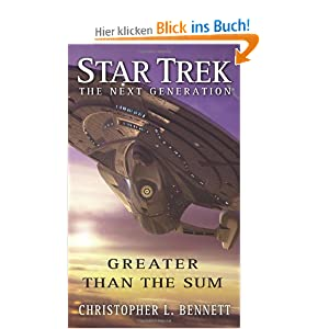 Star Trek: Greater than thhe sum Buch-Cover