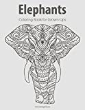 Elephants Coloring Book for Grown-Ups 1 (Volume 1)