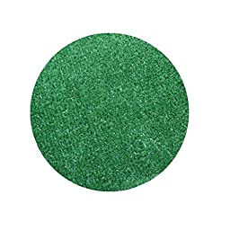 9\' Round - Green - ECONOMY TURF / ARTIFICIAL GRASS  Light Weight Outdoor Rug - EASY Maintenance - Just Hose Off & Dry! - 8 Colors to Choose From