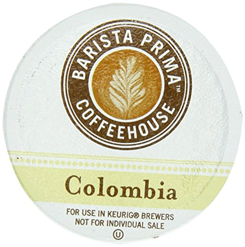 Barista Prima Coffeehouse COLOMBIA 48 K-Cups for Keurig Brewers (Keurig Barista Prima Columbia compare prices)