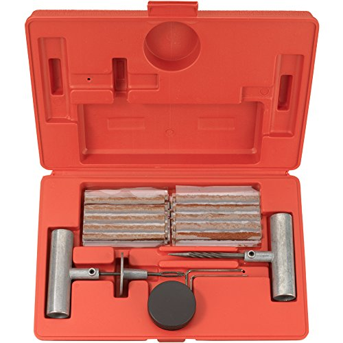 Tooluxe 50002L Universal Tire Repair Kit | 35-Piece Value Pack (Car Tire Repair compare prices)