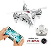 AICase-CX-10WD-TX-Edition-with-Remote-Control-4CH-24GHz-6-Axis-Gyro-FPV-Wifi-Remote-Control-RC-Real-time-Video-Fixed-height-KFCTOYS-Chengxing-Mini-Drone-Aerial-Quadcopter