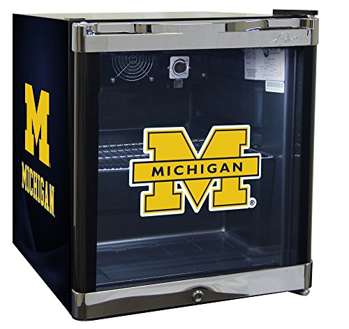 NCAA Refrigerated Beverage Center Wolverines (Wine Cave compare prices)