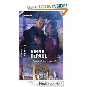 It Started That Night (Harlequin Romantic Suspense) Virna DePaul