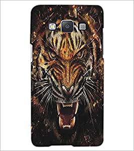 SAMSUNG GALAXY A5 ANGRY TIGER Designer Back Cover Case By PRINTSWAG