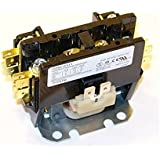 Replacement for Trane Single Pole / 1 Pole 30 Amp 24 Volt Coil Condenser Contactor CTR2579