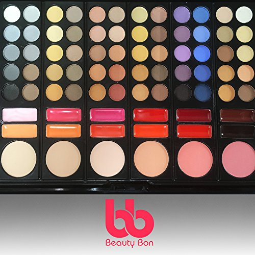 Details for Professional 78 Color Makeup Palette, Eyeshadow Makeup Kit by Beauty Bon by Beauty Bon