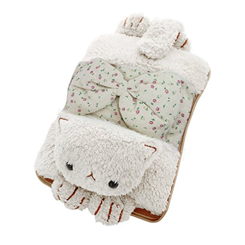 BXT Portable Cute Cartoon Safe Explosion-proof Rechargeable Electric Hot Water Bottle Soft Velvet Detachable Washable Cover Body Winter Hand Warmer Heater Pain Relief Heat Warming Pack Sack Bag (Electric Body Heater compare prices)