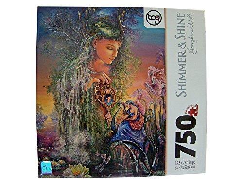 Josephine Wall Shimmer & Shine 750 Piece Jigsaw Puzzle: Undine