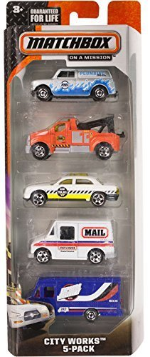 City Works: 5-Vehicle Matchbox Gift Set Series