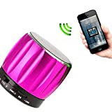 FEYE® Bluetooth Super Bass Mini Portable Speaker ,Rechargeable Wireless Boxing Speaker For Sony, Samsung, Iphones... - B016A9XQJG