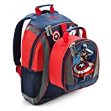 Disney Store Captain American Backpack & Lunch Bag