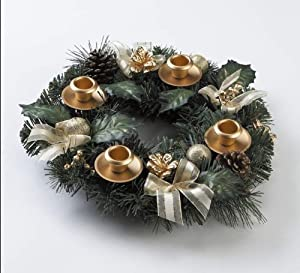 Advent Wreath - Traditional Pine Cone from Vermont Christmas