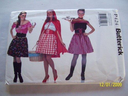 Butterick Costume Pattern P424