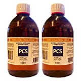 2 x Colloidal Gold 25ppm 500ml (Includes 1st Class P&P!) [2 For 1 Deal]