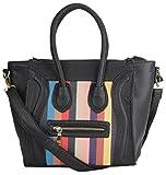 Aadaana Women's Handbag (Black, ADL-058)