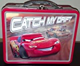 Disney Cars Large Tin Lunch Box Carry Assorted Colors and Styles (one piece)