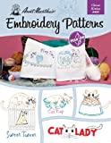 Aunt Martha's Clever Kitties Embroidery Transfer Pattern Book Kit