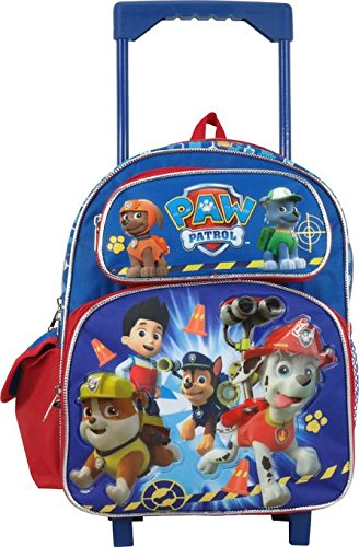 Nickelodeon Paw Patrol Toddler 12 Rolling Backpack