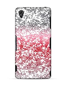 White pink glitters looking Sony Xperia Z3 case
