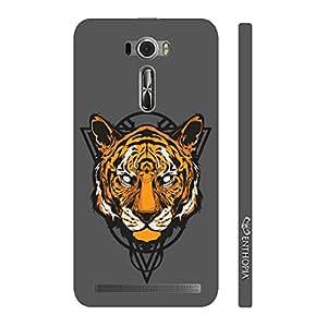Enthopia Designer Hardshell Case Musky Tiger Back Cover for Asus Zenfone 2 Laser ZE601KL