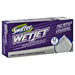 Swiffer Wet Jet Cleaning Pads, Refill, 12 ct.
