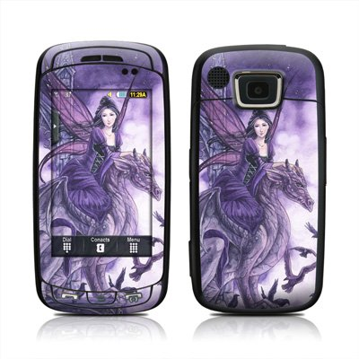 Dragon Sentinel Design Protective Skin Decal Sticker for Samsung Impression A877 Cell Phone
