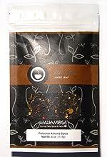 Mahamosa Pistachio Almond Spice Tea 4 oz - Loose Leaf Flavored Black Tea Blend with pistachios cumin